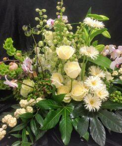 rouwarrangement vegetatief